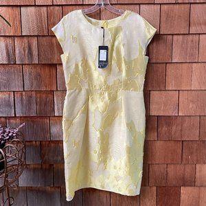NWT Escada Yellow Textured Dress - US10/Escada 40